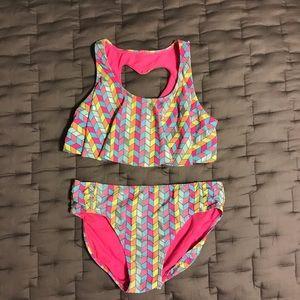 SO 2 piece girl's swimsuit